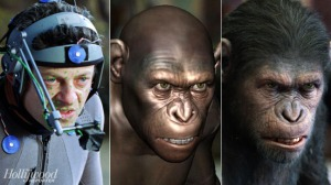 Andy Serkis transforms into Caesar